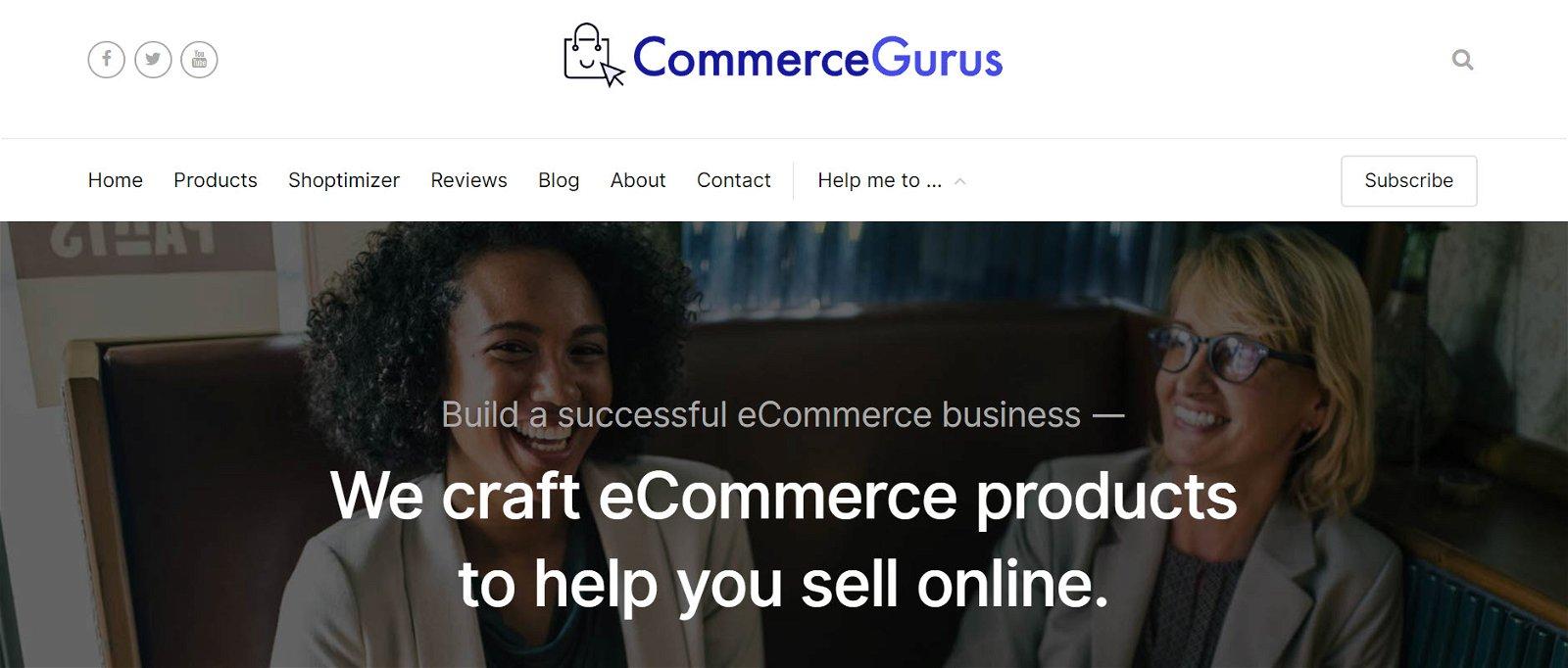 Simon Tomkins from CommerceGurus.com