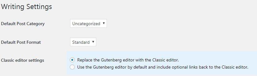 gutenberg-editor-writting-settings