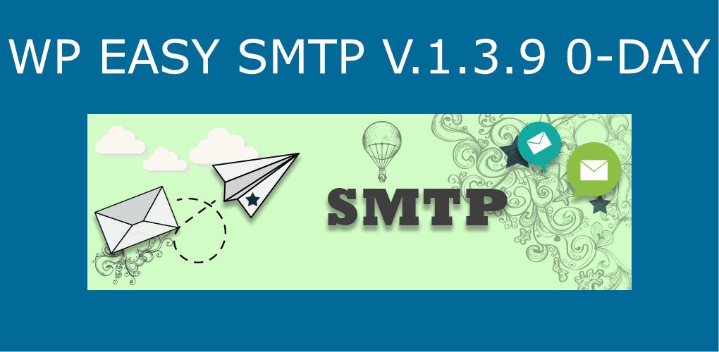 Easy WP SMTP v.1.3.9 Hacked Fix